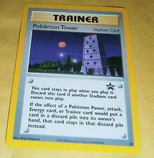 POKEMON BLACK STAR PROMO CARD - #42 POKEMON TOWER