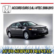 2013 2017 honda accord haynes repair service workshop manual rh ebay com au 2009 Honda Accord Honda Accord Repair Manual PDF
