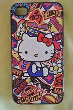 USA Seller Apple iPhone 4 & 4S Anime Phone case  Cute Hello Kitty