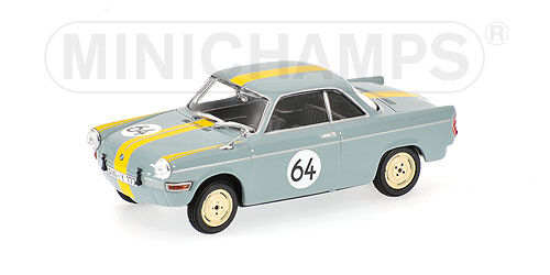 BMW  700  SPORT   12 H NURBURGRING  1961    MINICHAMPS   1 43