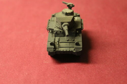1//72ND SCALE 3D PRINTED LISTING U ARMY STUART M2A4 TANK S