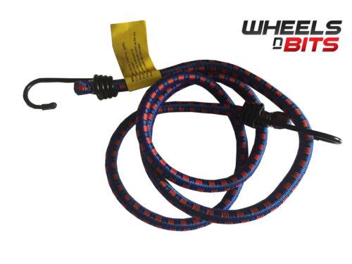 10x Bungee Cord Elastic Luggage Strap Rope Hooks Stretch Tie Car Van Trailor