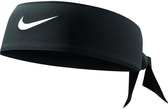 Nike Dri Fit Testa Cravatta 2.0 Nero e Bianco Adulti