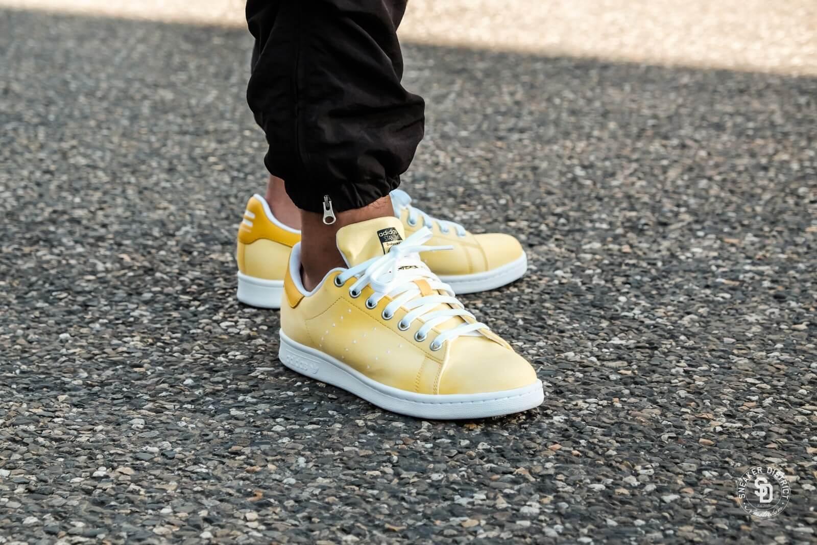 Adidas pharrell williams hu holi holi holi stan smith scarpe gialle noi ac7042 hu razza umana | Fornitura sufficiente  f038d1