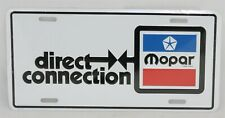 New Direct Connection License Plate Fits 1974 Challenger