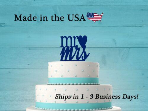 Mr Mrs Cake Topper Acrylic Cake Topper Wedding Cake Topper Mr and Mrs LT1005