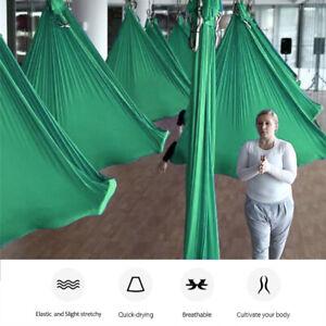 Profi-Fitness-Ubungen-Yoga-Hange-matte-Swing-Schaukel-Tuch-fur-Aerial-bis-900kg