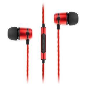 NEW-SoundMAGIC-E50C-In-Ear-Headphones-Earphones-Headset-with-Microphone-Red