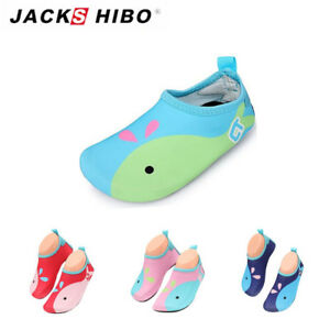 c0dba7b41975f Details about Kids Baby Whale Water Skin Shoes Aqua Socks Cute For Boy Girl  Beach Swim Sport