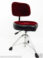 Roc-N-Soc NROR Nitro Red Drum Throne Seat PLUS BACKREST & CASE/BAG!!