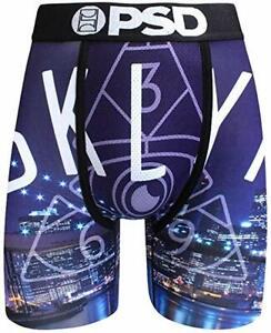 PSD Sous-vêtements Homme Kyrie Brooklyn Boxer Brief noir