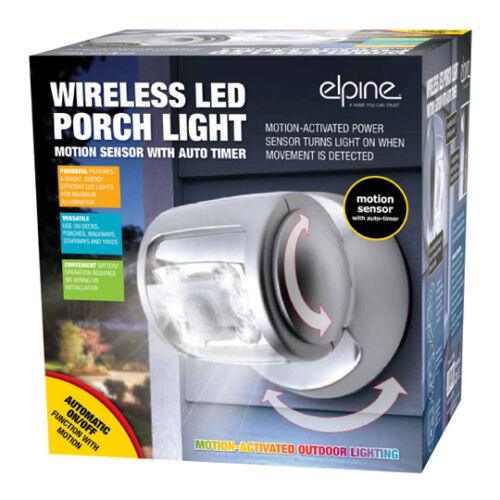 WIRELESS-LED-MOTION-SENSOR-PORCH-LIGHT-WITH-FLOODLIGHT-360-ROTATING-TECHNOLOGY