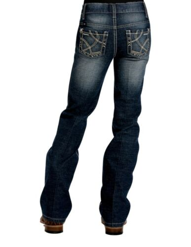 Cruel Girl Western Denim Jeans Girls Kids Adaline Slim Dk CB22671001