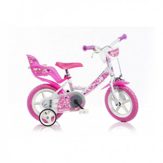 Bicicletta girl 12  Little Heart 124RLN-05LH Dino Bikes