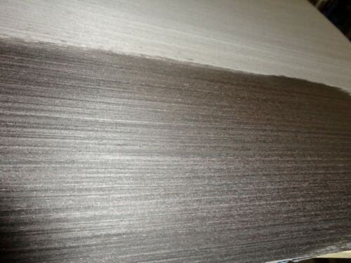 """Ebony Black Gray composite wood veneer 48/"""" x 24/"""" with paper backing 1//40th/"""""""