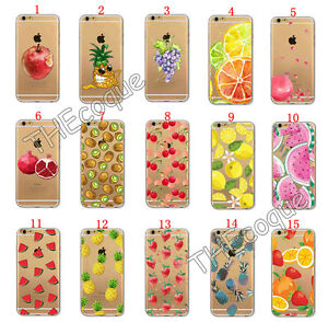 coque iphone 6 fruit