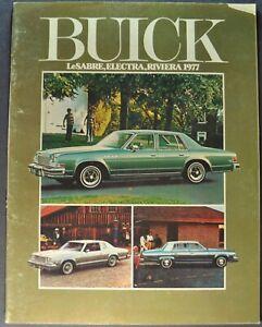 LeSabre Electra Riviera Regal 1980 Buick 75-page Original Sales Brochure