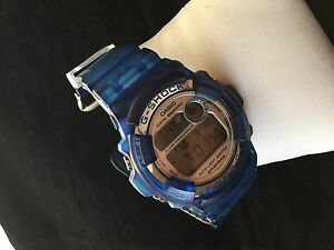 Authentic-Pre-owned-Casio-G-Shock-Blue-DW-9200K-I-C-E-R-C-Limited-Edition-Watch
