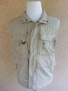COLUMBIA Hunting Fishing Safari Vest Omni-Dry GRT Men's Medium