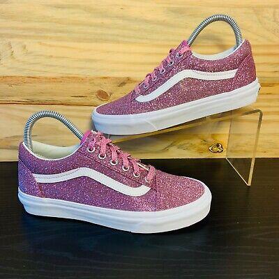 vans old skool glitter rosa