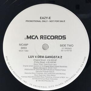 Eazy-E-Luv-4-Dem-Gangsta-039-z-Vinyl-Record-Orginal-1994-Sealed-Promo