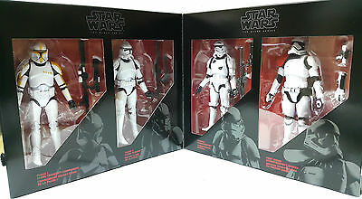 Star Wars The Black Series Clone Troopers 6 inches 4-Pack