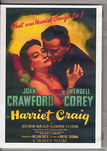 HARRIET-CRAIG-JOAN-CRAWFORD-amp-WENDELL-COREY-ALL-REGION-DVD