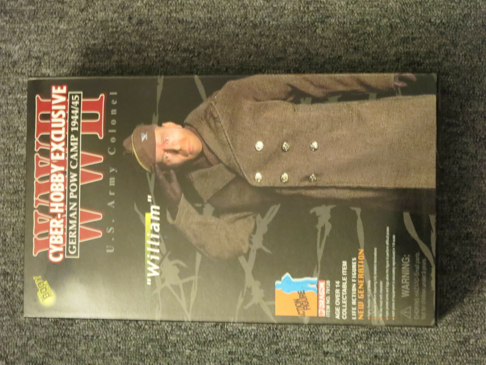 DRAGON CyberHobby Exclusive WILLIAM Geruomo POW Camp 194445  70128 16th cifra