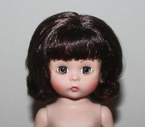 8 Madame Alexander MA Nude Dress Me Bent-Knee Doll Dark