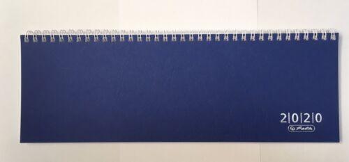 herlitz Tischkalender Colour 2020 Blau Schreibtischkalender Kalender Preisred/%