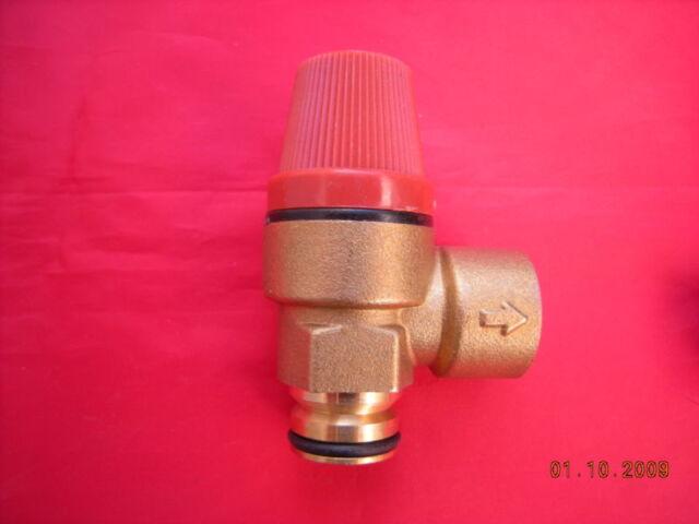 Heatline Capriz Válvula de Seguridad Alivio Presión 3003200019 Ajuste a Tipo