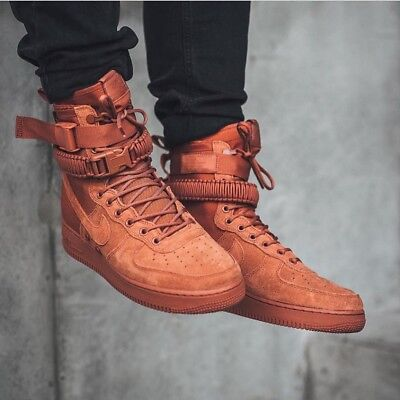 Nike SF Air Force 1 Dusty Peach Exclusive Mens Trainers Boots 864024 204 UK 7.5 888407326745 eBay  eBay