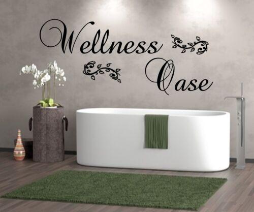 Wt 201188 murales wellnessoase pared Sticker baño sauna dormitorio baño