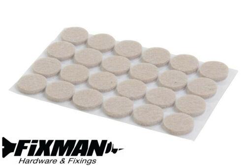 FIXMAN Autoadhesivo Almohadillas de fieltro Silla de pierna Protectores furnture Mesa Anti-rayadura