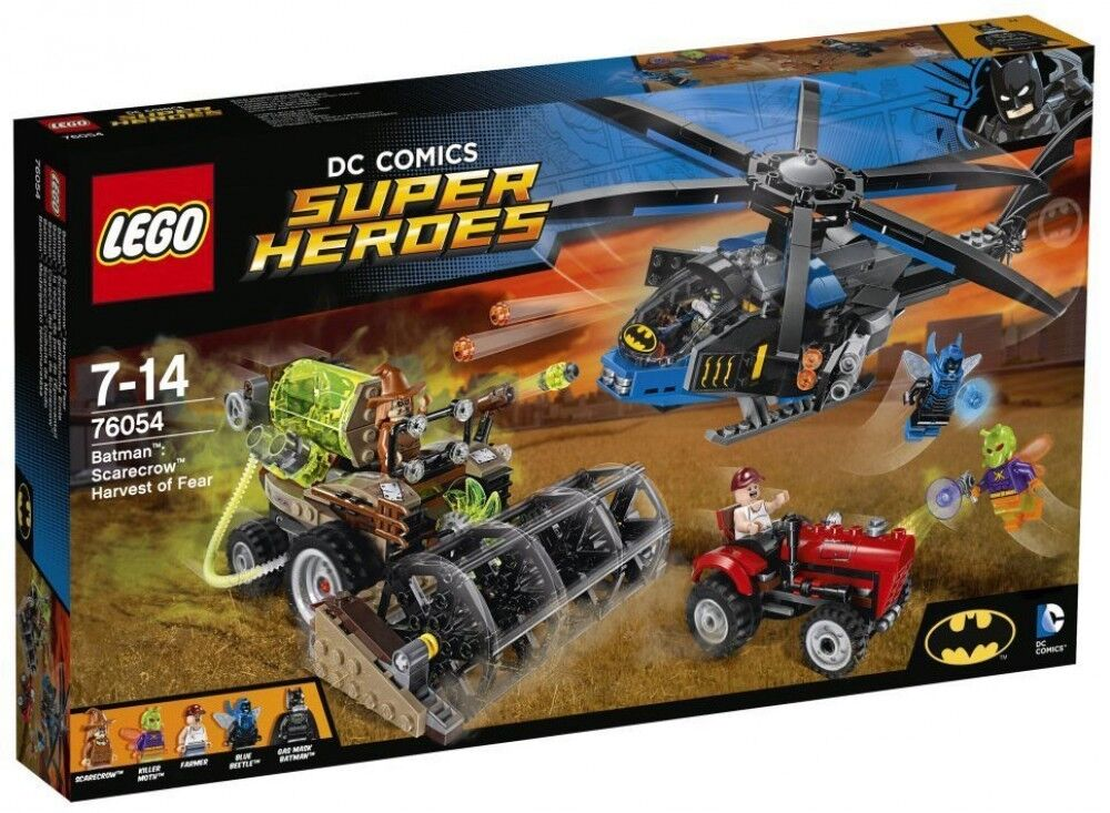LEGO SUPER HEROES COMICS BATMAN SCARECROW HARVEST OF FEAR 76054 NUEVO SIN ABRIR