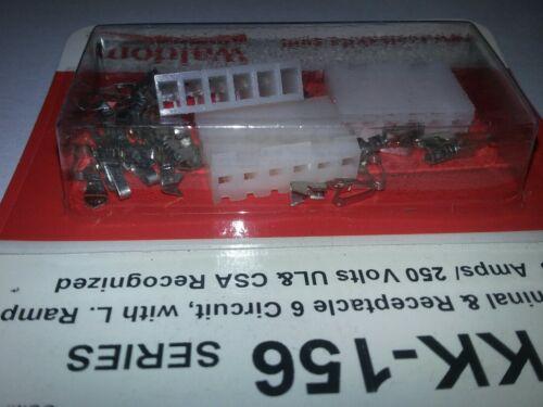 Waldom//Molex 76650-0098  6 Circuit KK 156 24-18 awg