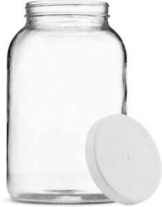 1-gallon-1-Pack-Wide-Mouth-Glass-Mason-Jar-with-BPA-Lid-Ferment-amp-Store