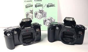 canon eos rebel xs body with manual for x g 2000 g ii ti t2 k2 etc rh ebay com canon eos rebel k2 manual español Canon EOS Rebel T4i