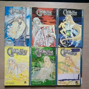 Chobits 1-5, 8, Lot of 6 Seinen Manga, English, 16+, Clamp