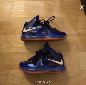 1388c732605 Image is loading Nike-Lebron-10-P-S-Elite-Superhero-Size-11-