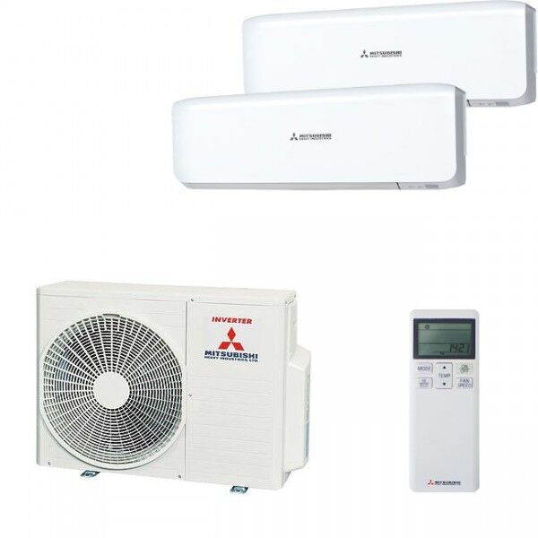 Mitsubishi Split Air Conditioning 2 Xsrk 25, 1 X SCM 40 Max   5kW  Cooling/6,8kw | EBay