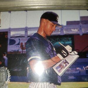 Details About Derek Jeter Autograph Debut Rookie Card Jsa Authentic