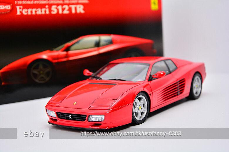 KYOSHO 1 18 Ferrari 512 TR Red