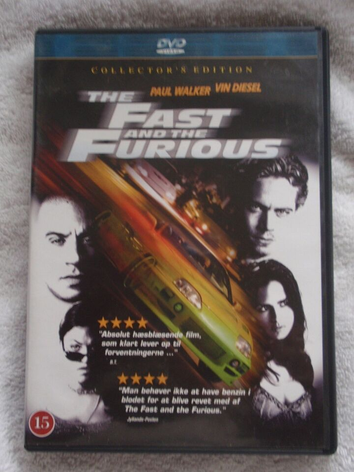 Fast And Furious 1, instruktør Rob Cohen, DVD