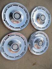 76 77 78 79 Dodge Aspen Full Set Wheel Cover Hubcap Good Used MOPAR
