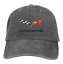 Unisex Corvette Emblem Car Logo Cap Vintage Cowboy Hat Adjustable Basebal Cap
