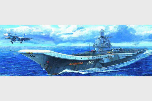 05713 Trumpeter 1 700 Model Scale Russia Navy Kuzentsov Aircraft Carrier Static