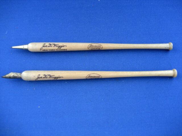 Joe DiMaggio Pen & Pencil Set / Circa 1940's