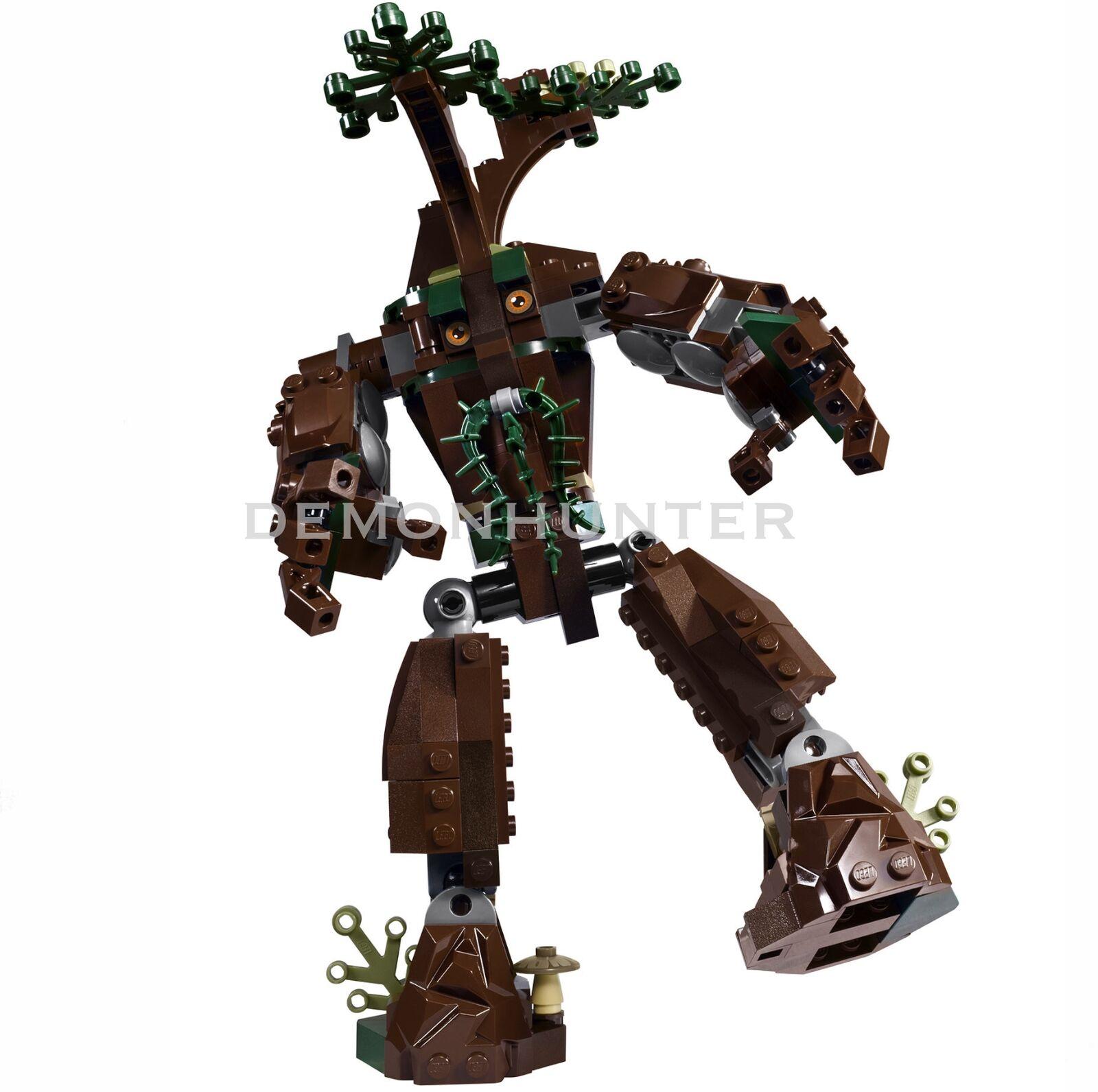 Lego Herr der Ringe - Treebeard Ent von 10237   die Tower von Orthanc