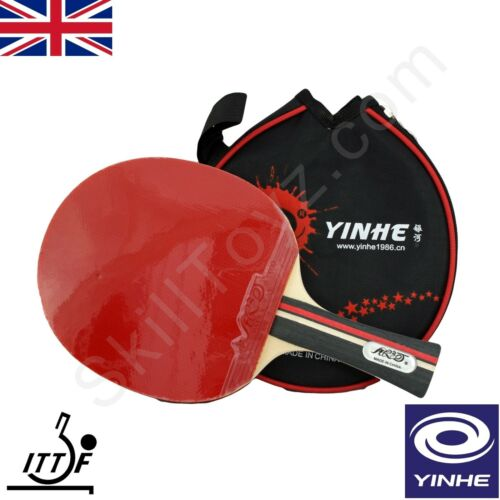 voie lactée 2 gratuit PROTECTIONS! Yinhe Tennis de Table Bat /& étui Noir Modèle 01B